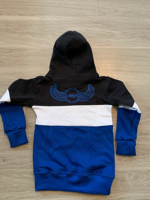 Tri Color Kids Sweatsuit