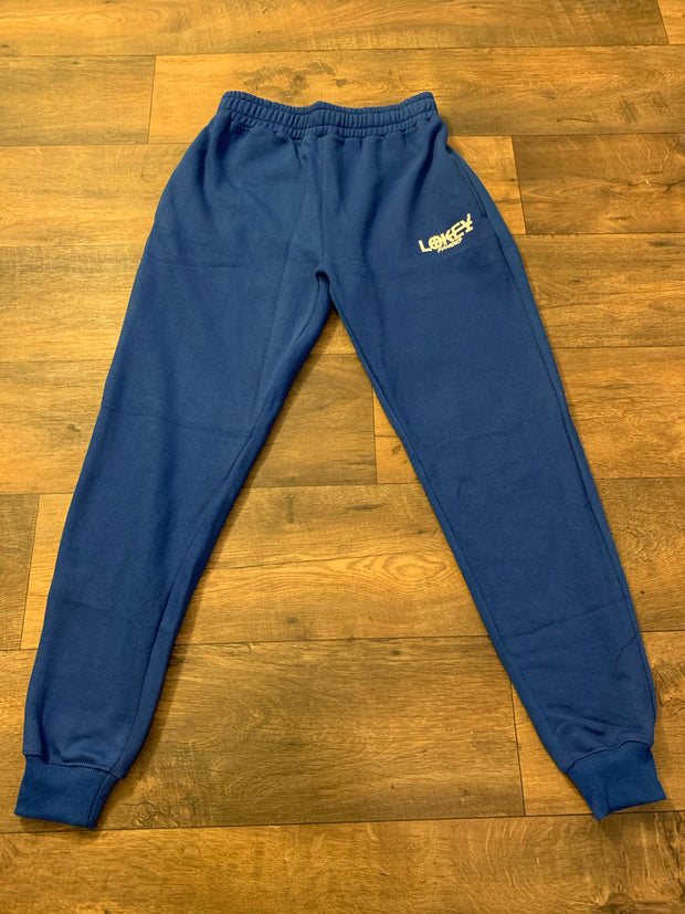 Royal Blue Lokey Famous Joggers