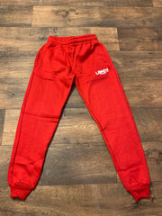 Red Lokey Famous Joggers