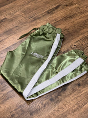 Olive green Women's track pants