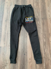 Men Retro Lokey Famous joggers