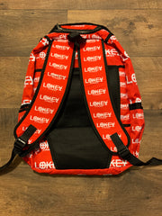 Red book bag