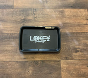 Black Led Rolling Tray