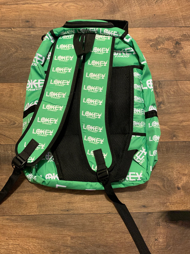 Lime Green book bag