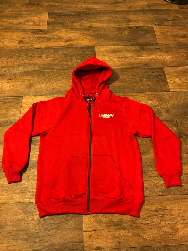 Red Lokey Famous Fleece