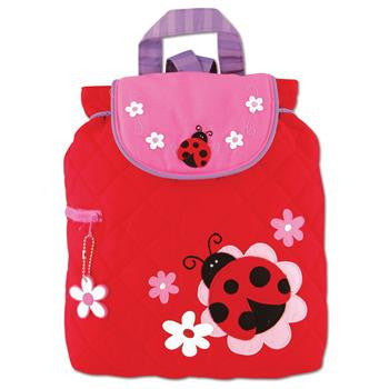 Stephen Joseph Ladybug, Quilted Backpack