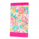 Summer Paisley Beach Towel