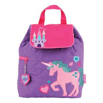 Stephen Joseph Quilted Unicorn Backpack
