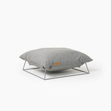 Castella Cushion Bed in Grey