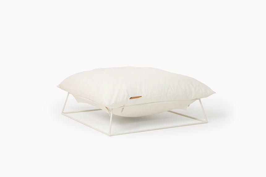 Castella Cushion Bed in Beige