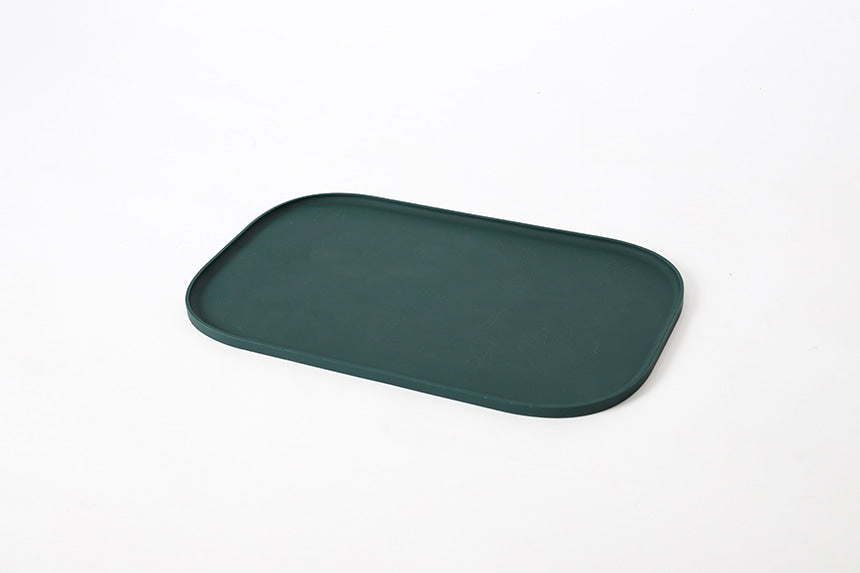 Oreo Mat in Dark Green