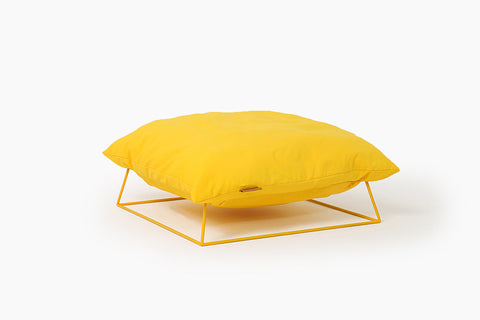Castella Cushion Bed in Yellow