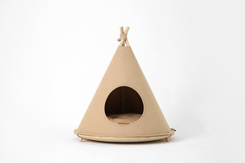 Choco Tent in Brown