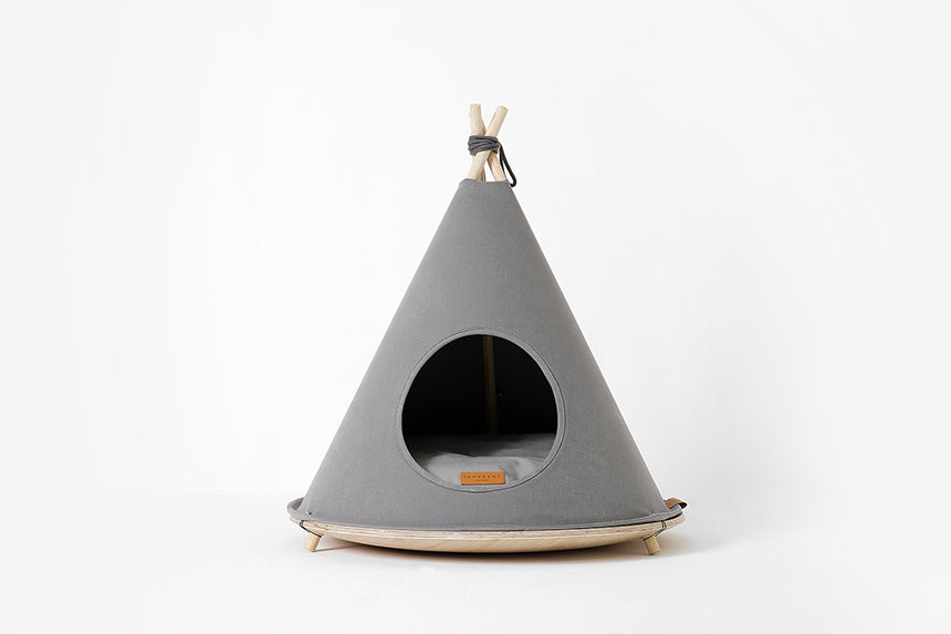 Choco Tent in Grey