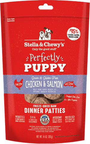 Stella & Chewy's Freeze Dried Chicken & Salmon Dinner Patties for Puppies