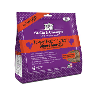 Stella & Chewy's Freeze Dried Tummy Tucklin' Turkey Dinner Morsels for Cats 9oz