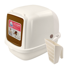 Load image into Gallery viewer, CAT IDEA Cat Ears Litter Box (XL)