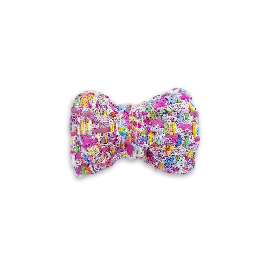 6FIVE Candy Tweed Bowtie