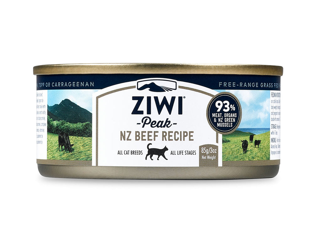 ZiwiPeak Beef Canned Cat Food 85g/185g
