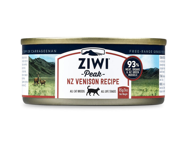 ZiwiPeak Venison Canned Cat Food 85g/185g