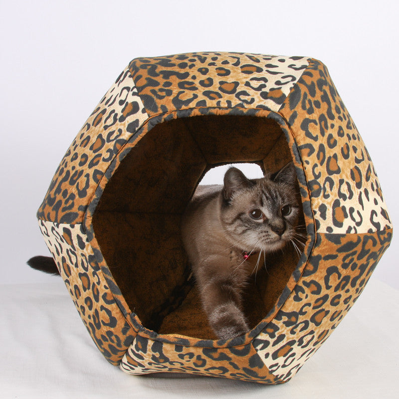 The Cat Ball in Leopard