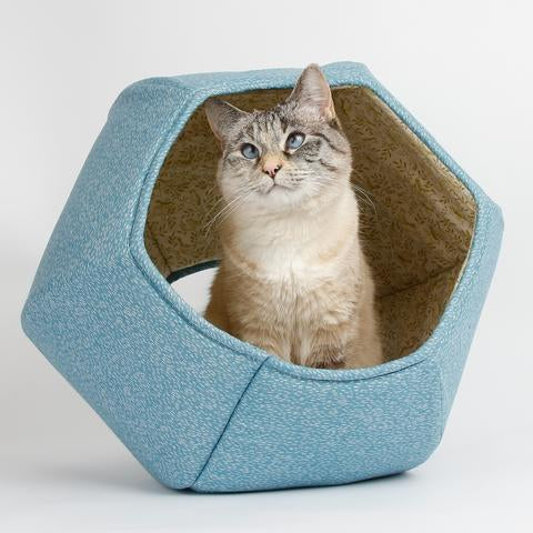 The Cat Ball in Robin Egg Blue