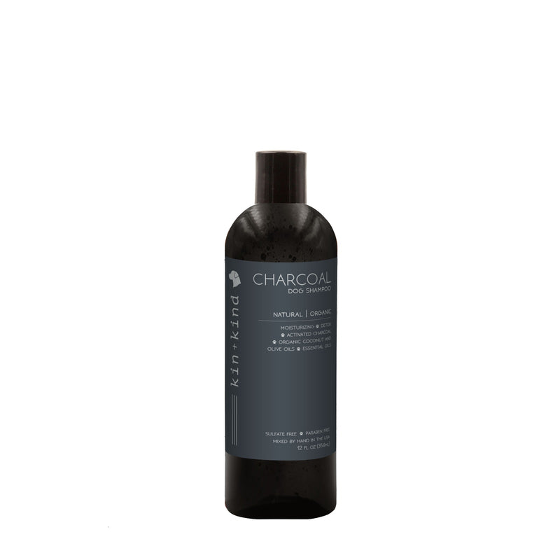 Kin+Kind Charcoal Shampoo for Dogs