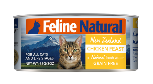 Feline Natural Canned Food - Chicken Feast 85g