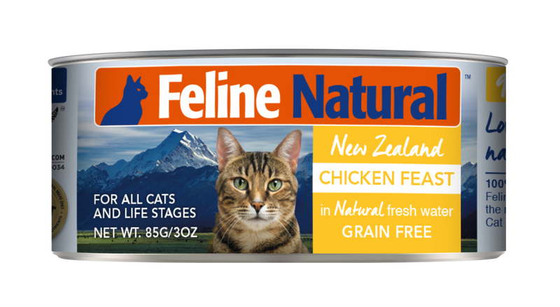 Feline Natural Canned Food - Chicken Feast 85g / 170g