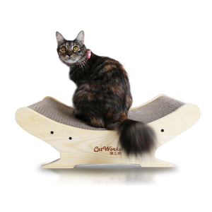 Crescent Cat Scratcher