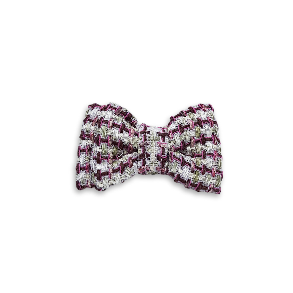 6FIVE Demi Tweed Bowtie