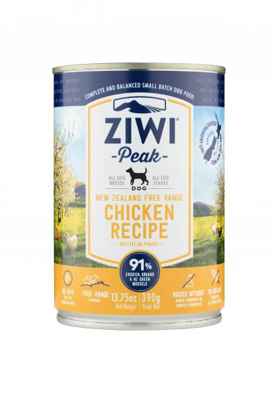 ZiwiPeak Chicken Canned Dog Food 390g