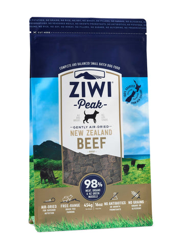 ZiwiPeak Air Dried Beef for Dogs
