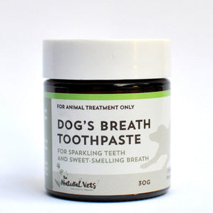 The Natural Vets Dog's Breath Toothpaste 30g