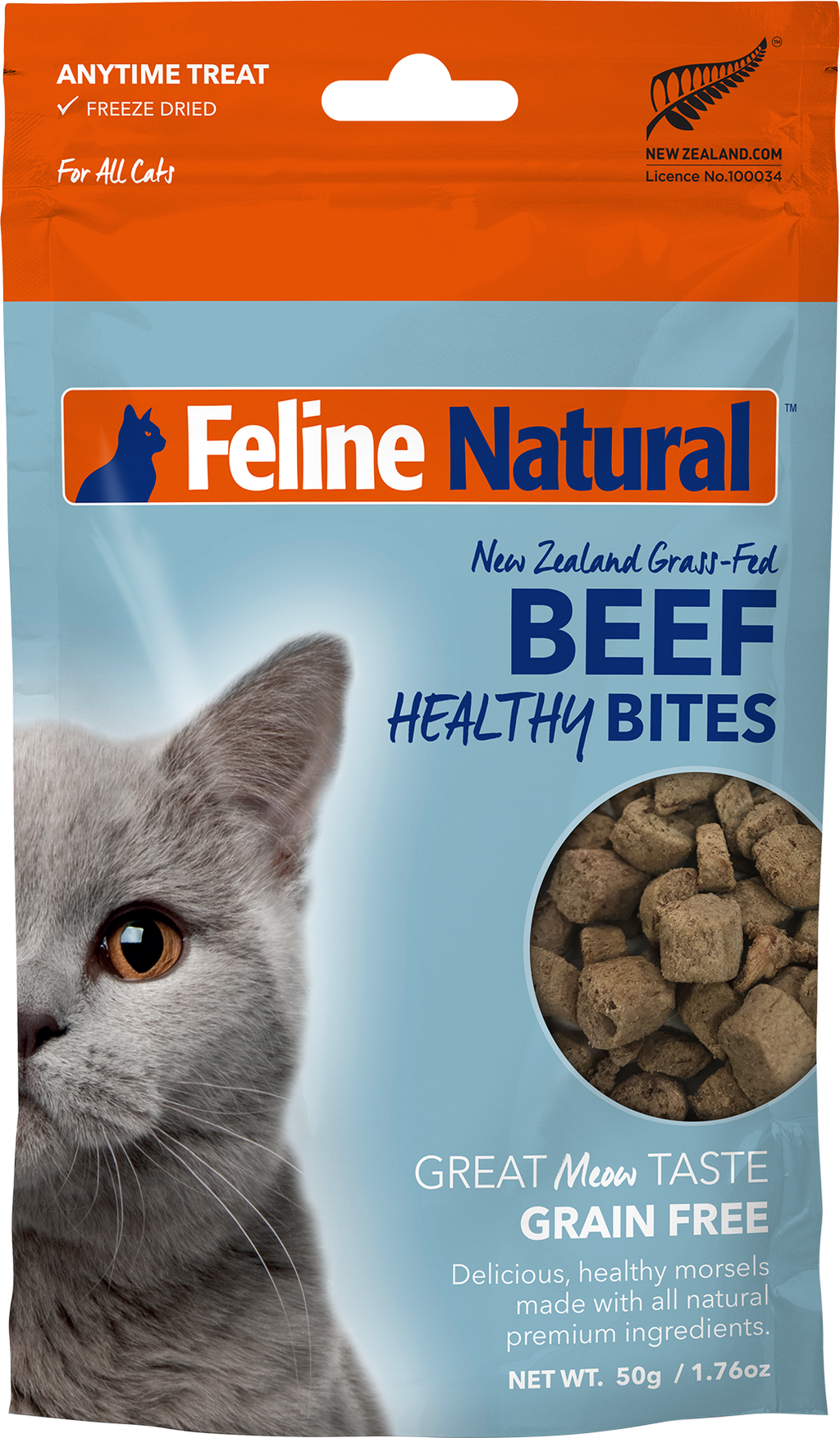 Feline Natural Healthy Bites - Beef