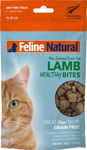 Feline Natural Healthy Bites - Lamb