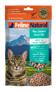 Feline Natural Freeze Dried Beef & Hoki Feast 100g