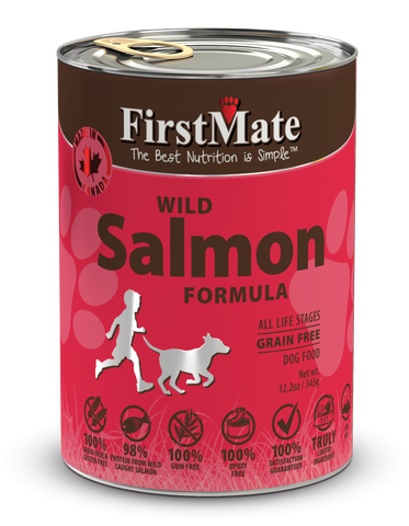 FirstMate Wild Salmon Formula for Dogs 12.2oz