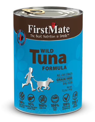 FirstMate Wild Tuna Formula for Dogs 12.2oz