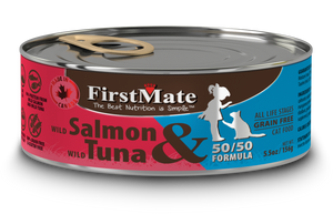 FirstMate Wild Salmon & Wild Tuna 50/50 Formula 5.5oz
