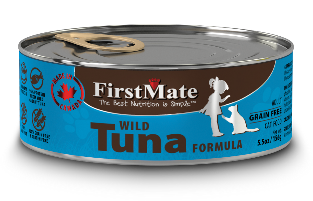 FirstMate Wild Tuna Formula for Cats 5.5oz