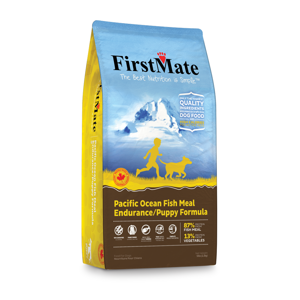FirstMate Grain Free Dry Food - Pacific Ocean Fish Endurance/Puppy Formula