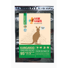 Load image into Gallery viewer, Raw Rawr Freeze Dried Kangaroo Balance Diet for Dogs 400g