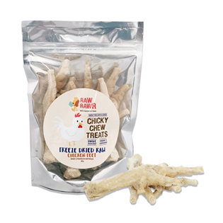 Raw Rawr Freeze Dried Raw Chicken Feet Treats