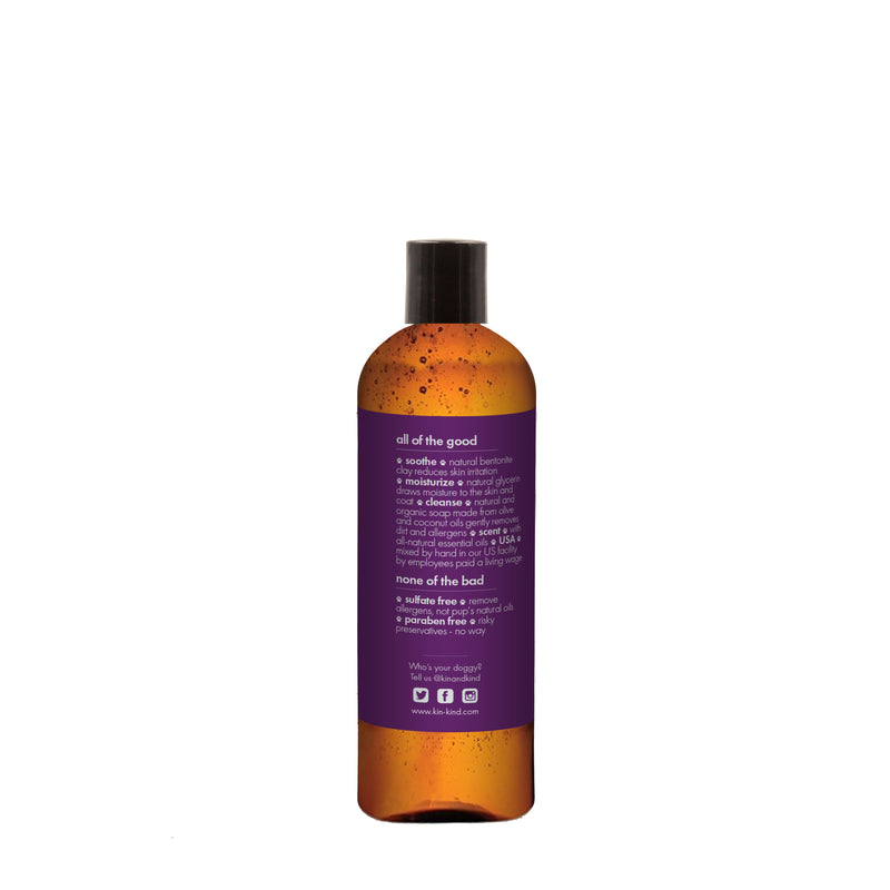 Kin+Kind Healing Clay Shampoo for Dogs