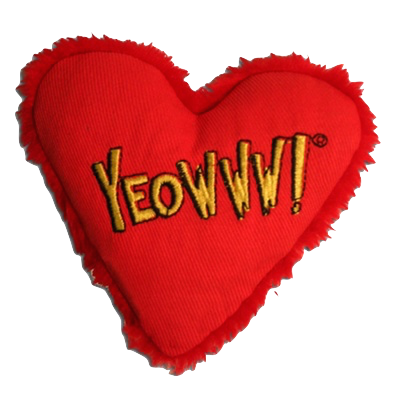 Yeowww! Heart Catnip Toy