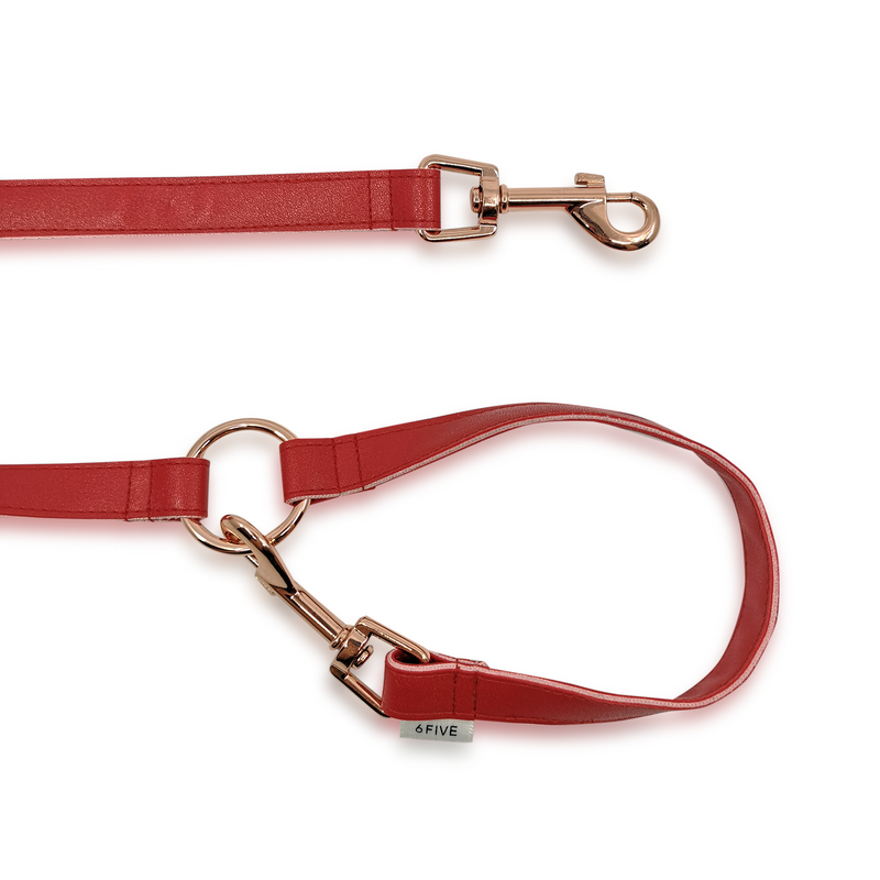 6FIVE Leash in Red
