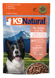 K9 Natural Freeze Dried Lamb & Salmon Feast Topper 500g