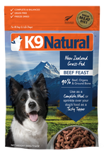 Load image into Gallery viewer, K9 Natural Freeze Dried Beef Feast 500g