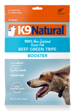 Load image into Gallery viewer, K9 Natural Freeze Dried Beef Green Tripe Booster 250g